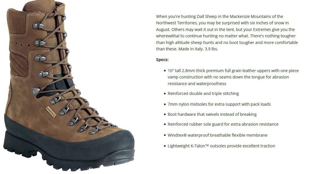 the best boots for hunting elk
