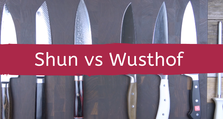 shun knives vs wusthof knives