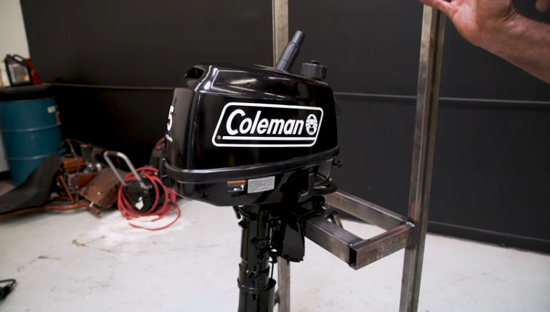 durable outboard motor for saltwater