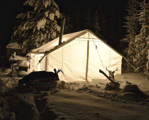 best wall tents for cold weather