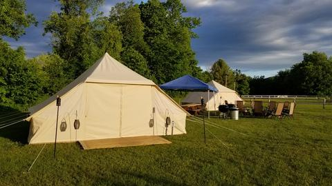 tallest wall tent